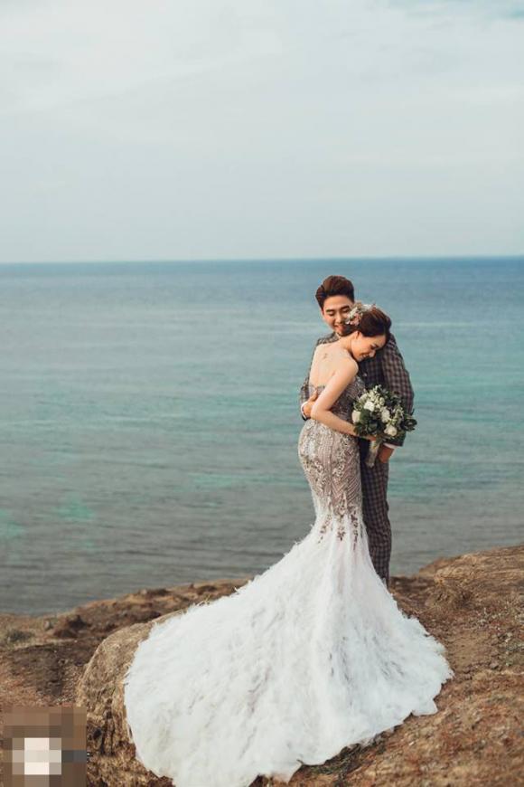 Huy Nam, ca sĩ Huy Nam, ảnh cưới ca sĩ Huy Nam, Huy Nam và vợ
