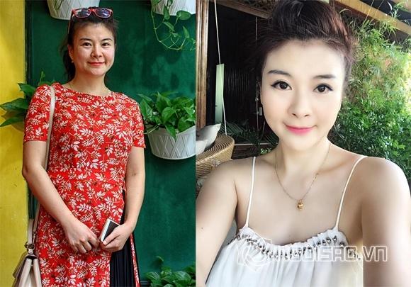 Bat ngo voi nhan sac khong qua photoshop cua dien vien Kim Oanh