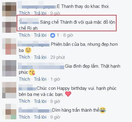 Tran Thanh bi fan nghi ngo 'mac nham quan' Hari Won khi du sinh nhat con trai Ha Ho