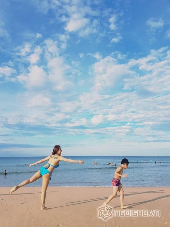 sao việt, sao việt du lịch, sao du lịch hè, địa điểm du lịch hè, du lịch biển
