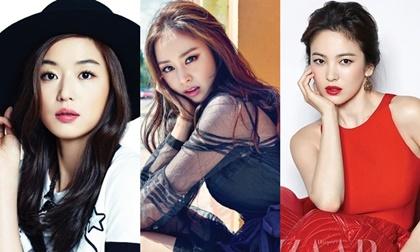 thời trang sao,nữ diễn viên Jun Ji Hyun,Jun Ji Hyun xinh đẹp rạng rỡ,Jun Ji Hyun xinh dep, jun ji hyun bầu bí, sao Hàn