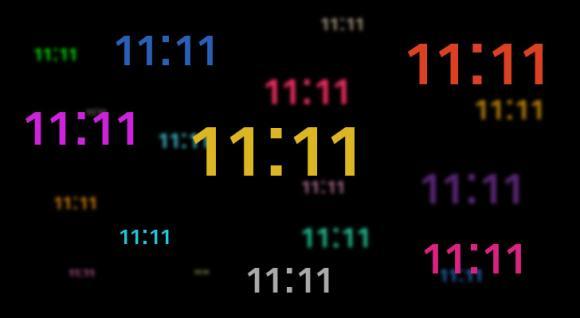 11h11 phút, 11:11 phút, thời điểm 11:11, ý nghĩa 11:11, 11:11