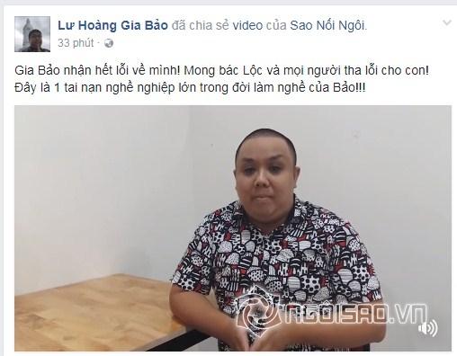 NSƯT Thành Lộc, Gia Bảo, diễn viên hài Gia Bảo