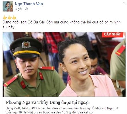 chuyện làng sao,sao Việt,Hoa hậu Phương Nga,Trương Hồ Phương Nga