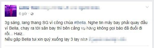 bella, bella sinh con, bella vào sài gòn, bella được giúp đỡ, hot girl quỵt tiền