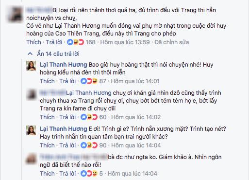 chuyện làng sao,sao Việt,Cao Thiên Trang,Lại Thanh Hương,Cao Thiên Trang thả thính người yêu Chà Mi