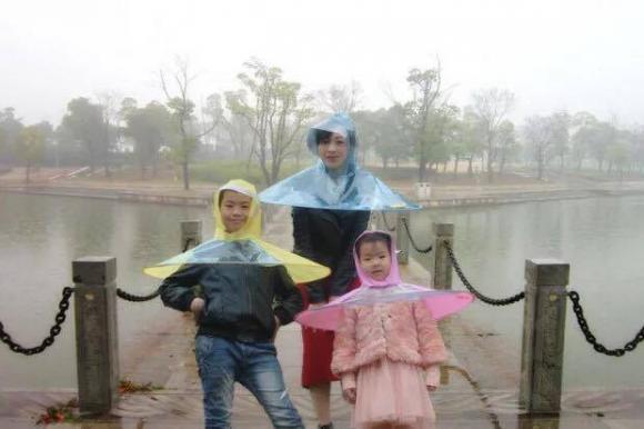 áo mưa, thiết kế độc đáo, ô,