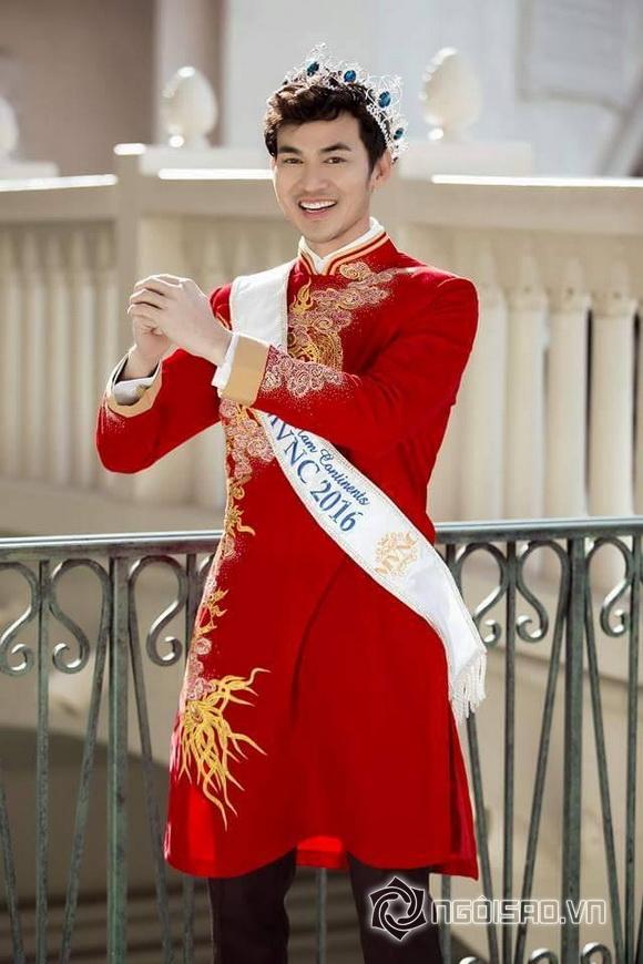 Nam vương Quang Vũ, Nam vương người Việt thế giới 2016, Sao Việt