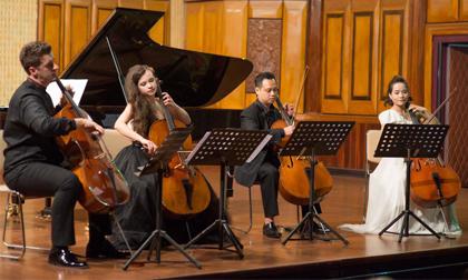 Cello Fundamento concert 2, Hồng Dương, Đinh Hoài Xuân