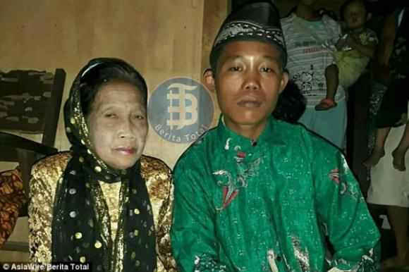 chàng trai 16 tuổi cưới cụ bà 71 tuổi, Cặp đôi đũa lệch, Chuyện lạ quanh ta