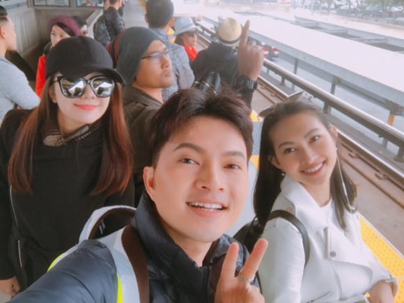 Em gái hot girl hỗ trợ Nam Cường quay MV tại Mỹ