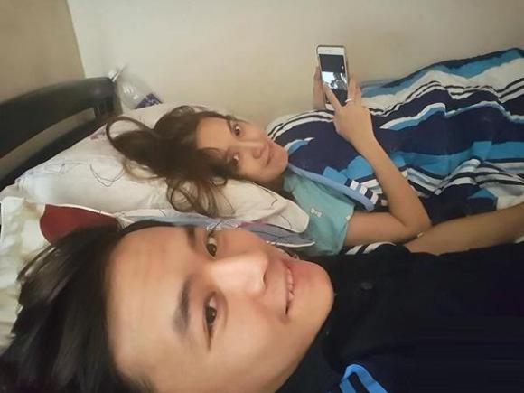 sao việt, vợ chồng sao, cảnh trên giường