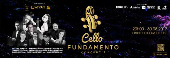 Hòa nhạc Quốc tế CELLO Fundamento, Đinh Hoài Xuân, CELLO Fundamento concert 2