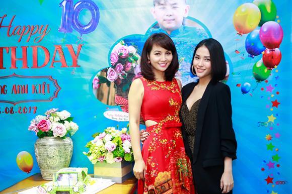 chuyện làng sao,sao Việt,Mai Thu Huyền,con trai Mai Thu Huyền,sinh nhật con trai Mai Thu Huyền