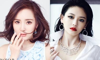 Dương Mịch, Angela Baby, Thẩm Mộng Thần, sao Hoa ngữ,thời trang sao