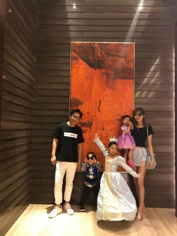 chuyện làng sao,gia đình Trần Hạo Dân,vợ Trần Hạo Dân,Trần Hạo Dân chăm sóc vợ, sao Hoa ngữ