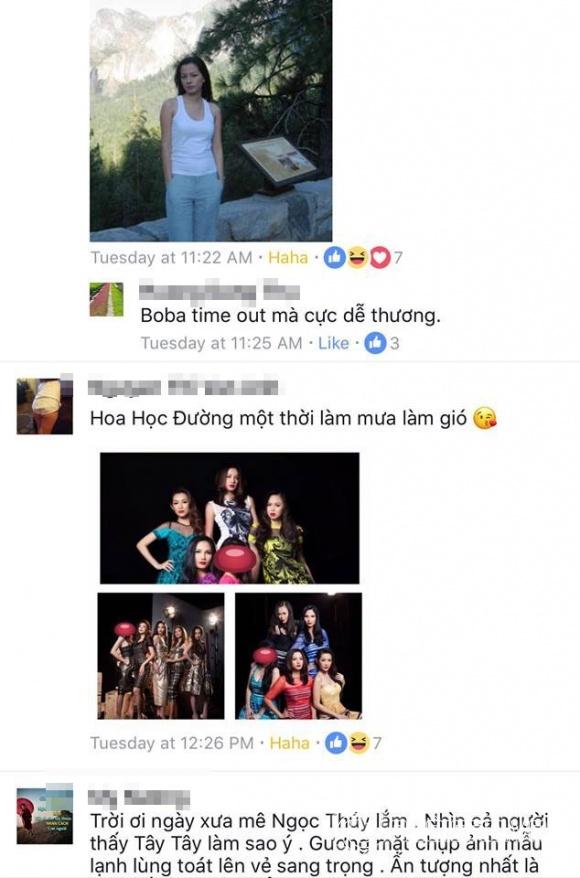 Ngọc Thúy, Thân Thúy Hà, siêu mẫu Ngọc Thúy,chuyện làng sao,sao Việt