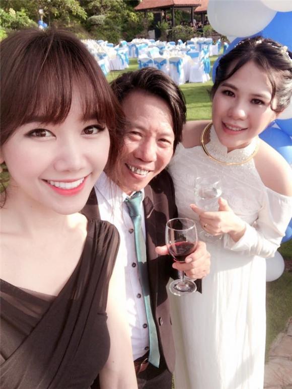 chuyện làng sao,sao Việt,Mỹ Tâm,Hari Won,đám cưới của đạo diễn Nguyễn Tranh,