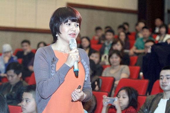 Mc diễm quỳnh,nhà báo tạ bích loan,diễm quỳnh trưởng ban vtv6