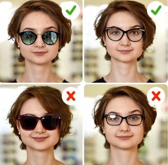 kính mát, gương mặt, chọn kính mát,thời trang, mẹo hay