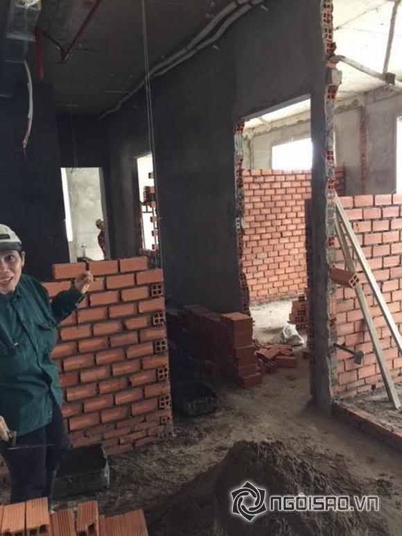 Diễn viên phi thanh vân,nữ hoàng dao kéo,phi thanh vân xây nhà,chuyện làng sao,sao Việt