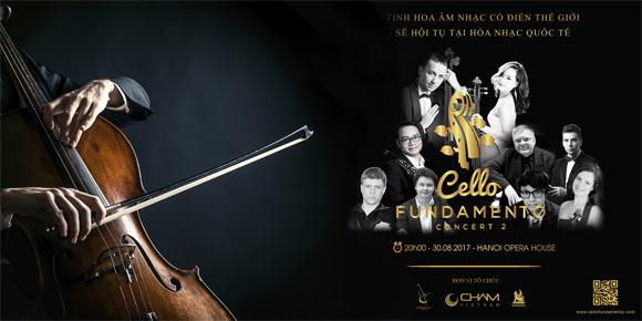 Cello Fundamento Concert II, Hòa nhạc thính phòng, Nhạc thính phòng, Đinh hoài xuân