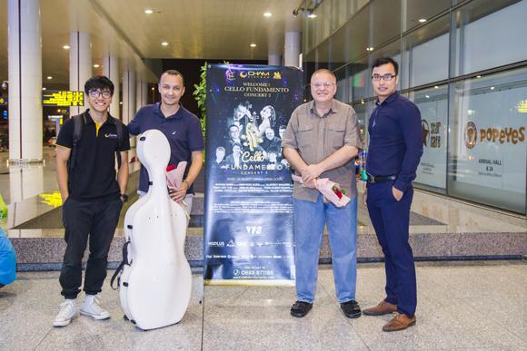 CELLO Fundamento concert 2, Hòa nhạc thính phòng, Đinh Hoài Xuân