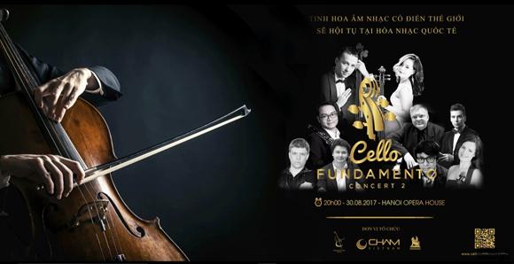 CELLO Fundamento concert II, Hòa nhạc thính phòng, Đinh Hoài Xuân