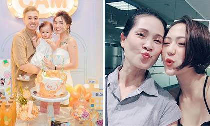 Trang Cherry, diễn viên sống chung với mẹ chồng, sao Việt