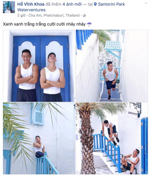 chuyện làng sao,sao Việt,Hồ Vĩnh Khoa,Hồ Vĩnh Khoa và bạn trai tin đồn,nghi vấn yêu đương