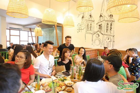 ẩm thực Sài Thành, Đàm Vĩnh Hưng, Sao việt