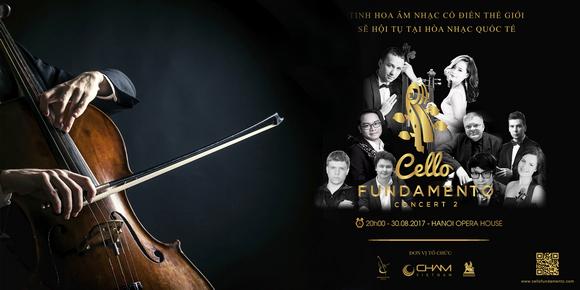 CELLO Fundamento Concert II, hòa nhạc thính phòng, NSND Lê Khanh, Đinh Hoài Xuân