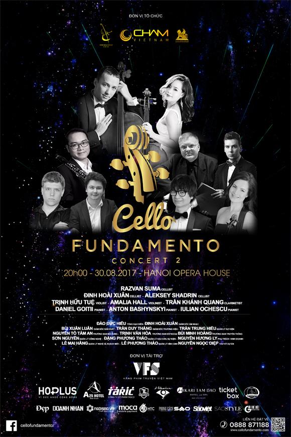 A25 HOTEL, CELLO Fundamnento concert II, Hòa nhạc thính phòng