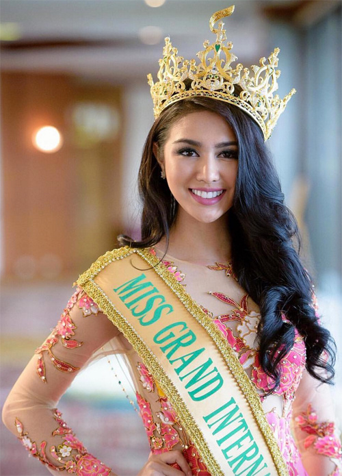 ,Miss Grand Slam,Hoa hậu đẹp nhất thế giới,Hoa hậu của các Hoa hậu, miss grand slam 2016