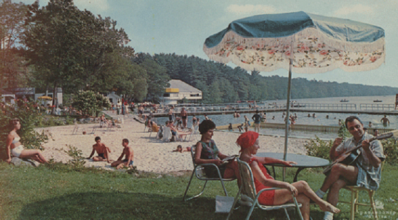 khu vui chơi, những năm 60, nhiếp ảnh gia Pablo Iglesias Maurer