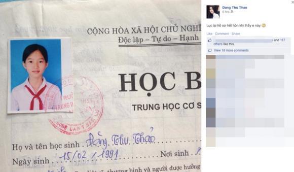 hồ sơ sao,sao Việt,Đặng Thu Thảo,Trung Tín