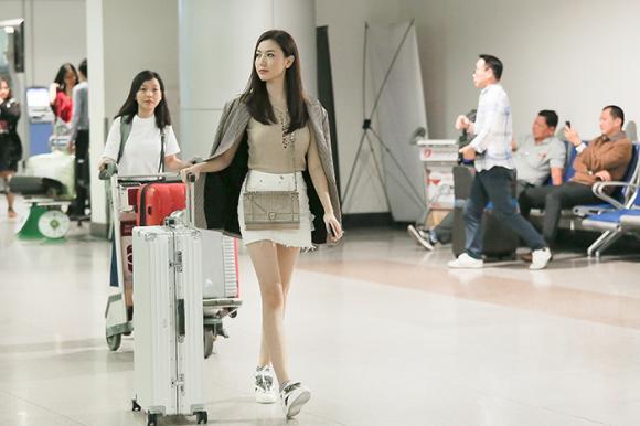 thời trang sao,sao Việt,Ngọc Duyên, Hoa hậu Hòa Bình Nhật Bản 2017