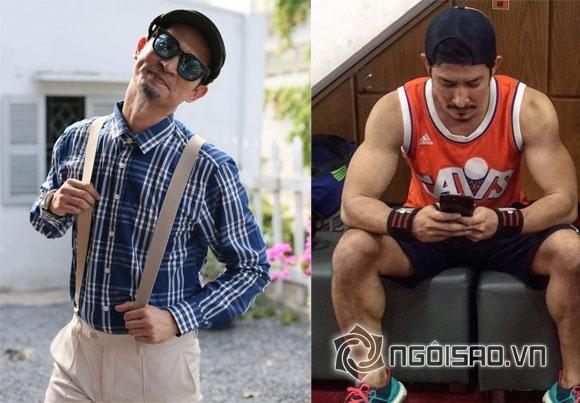 làm đẹp,sao Việt,Huy Khánh