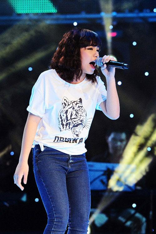 Vũ Thảo My , Quán quân The Voice 2013