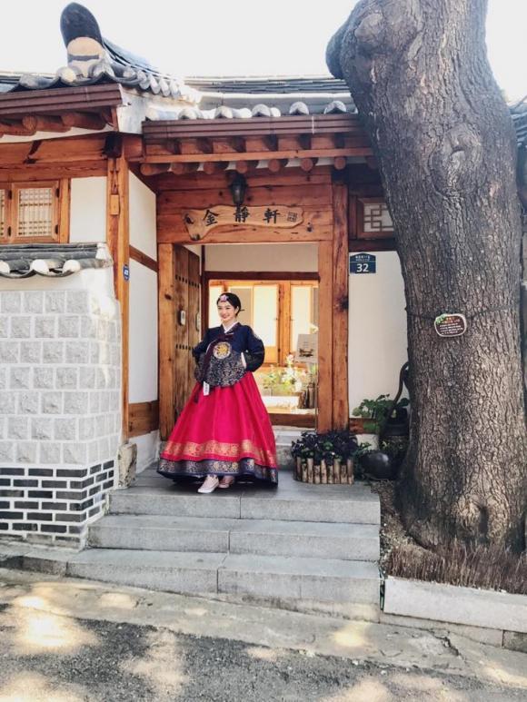 sao việt,  Kaity Nguyễn,  Kaity Nguyễn ngực khủng, nữ chính em chưa 18,  Kaity Nguyễn mặc hanbok