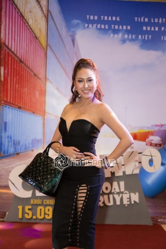 thời trang sao,sao Việt,Phi Thanh Vân,Nam Em