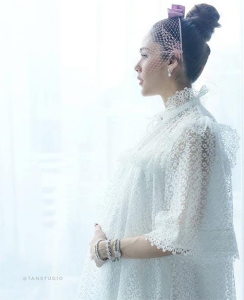 Chompoo Araya, diễn viên Chompoo Araya, sao Thái, Chompoo Araya sinh con, Chompoo Araya mang bầu,làm đẹp