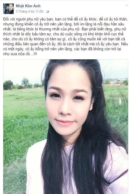 chuyện làng sao,sao Việt,Nhật Kim Anh