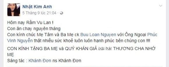 Nhật Kim Anh, diễn viên Nhật Kim Anh, ca sĩ Nhật Kim Anh, mẹ chồng Nhật Kim Anh,chuyện làng sao,sao Việt