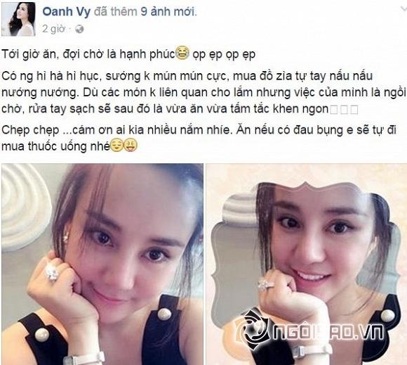 Vy Oanh, ca sĩ Vy Oanh, chồng Vy Oanh,chuyện làng sao,sao Việt