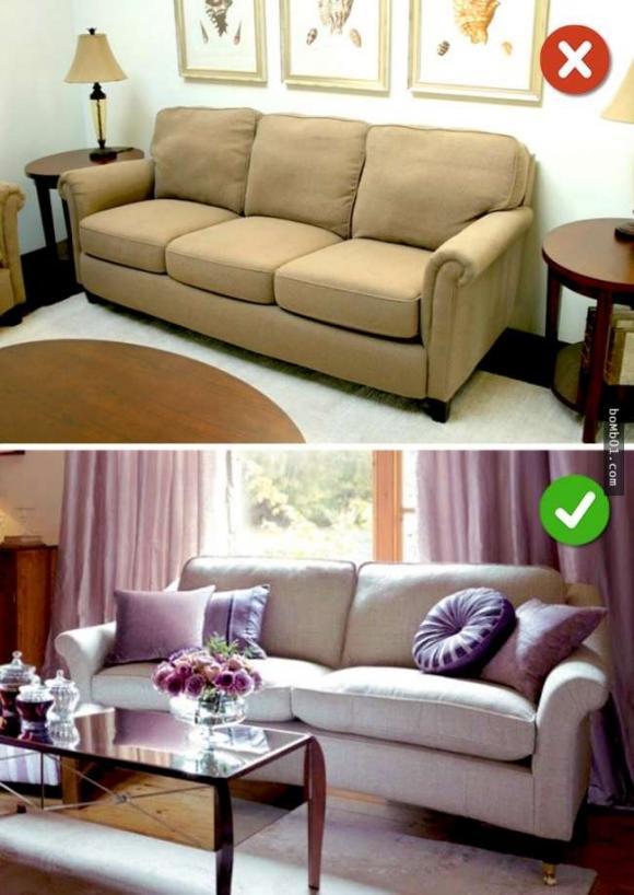 16 thiết kế nội thất sai lầm, thiết kế nội thất, 90% ai cũng mắc phải sai lầm thiết kế nội thất này