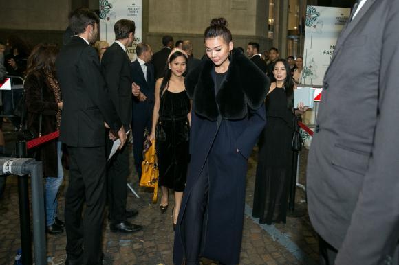 thời trang sao,sao Việt,Thanh Hằng,Milan Fashion Week