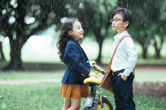 em gái mưa, em gái mưa phiên bản nhí, bộ ảnh em gái mưa, bộ ảnh em gái mưa nhí, ảnh em bé đẹp
