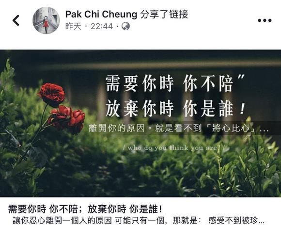 Trương Bá Chi, Tạ Đình Phong, Vương Phi, sao hoa ngữ