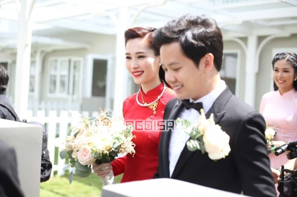 chuyện làng sao,sao Việt,Đặng Thu Thảo,Trung Tín,đám cưới Đặng Thu Thảo